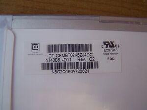 "Chi Mei N140B6-D11 Rev. C2 14"" LED LCD, HD 1366x768 Matte, 30 Pin Screen"