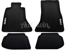 BMW M5 Series F10 F10LCI F11 Floor mats With ///M5 Emblem LHD Side Clips