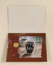 Starbucks Indonesia Love You Valentine Flazz Card  2011 with Sleeve