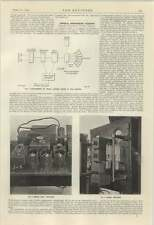 1924 Wembley Exhibition Broadcasting P A Amplifiers