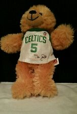 KEVIN GARNETT #5 Signature BOSTON CELTICS Retired Official NBA Jersey Teddy Bear