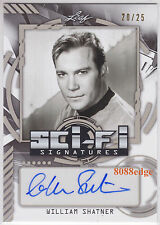 "2016 POP CENTURY SCI-FI AUTO: WILLIAM SHATNER #20/25 AUTOGRAPH""STAR TREK - KIRK"""