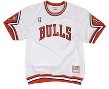 Mitchell & Ness NBA Authentic Shooting Shirt Chicago Bulls White