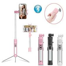 Wireless Selfie Stick Bluetooth Extendable Tripod/Monopod Remote for iOS Android