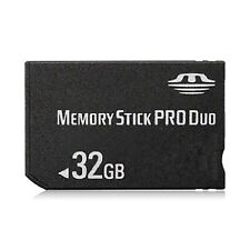 32GB 64GB Memory Stick Pro Duo Adapter Card for PSP 2000 3000 Cybershot Camera
