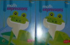 Hmh Math Expressions 1st Grade Vol. 1 & 2 Softcover Consumable Student Activity