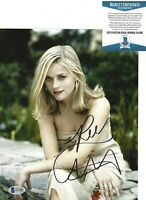 SEXY REESE WITHERSPOON SIGNED 8x10 MOVIE PHOTO BECKETT BAS COA 2 LEGALLY BLONDE