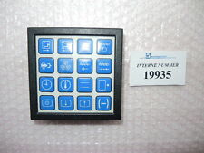 Input keypad SN. 114.811, Arburg usede injection molding machines & spare parts