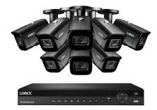 NEW Lorex 16 Channel 4K NVR + 8  8MP IP Cameras Nocturnal 30 fps