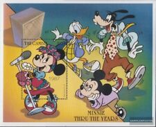 Never Hinged 1998 Walt-disney- Gambia Block385 Unmounted Mint complete Issue