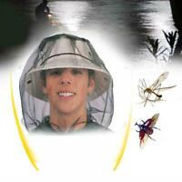 Beekeeping Beekeeper Face Head Guard Cowboy Hat Mosquito Net Bee Insect Vei P5C0