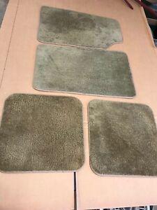 1977 1978 1979 LINCOLN MARK V Interior Tan Floor Mats OEM NICE D9AB-5413001