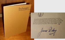 Signed Limited Edition ~ Exchanges by James Dickey, 1971, Softcover
