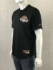 Team Nike Fit Dry Cal Ripken Baseball Camp Black Jersey Shirt Mens Small S