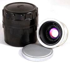 JUPITER-12 35mm f2.8 Silver RF M39 USSR Carl Zeiss Biogon Leica Skopar ZM M 2.5