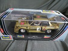 REVELL MONOGRAM LIKE SCALEXTRIC 1/32 USED VVGC BMW 320 DRM 1977 REF:08378 GOLD
