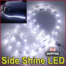 2X Audi Style 60CM 24'' HID White LED Head Fog Emit DRL Side Shine Strip Light