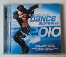 "VARIOUS ""So You Think.Dance Australia 2010"" CD DVD ALBUM compilation 2010s pop"