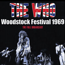 THE WHO New Sealed 2020 LIVE COMPLETE 1969 WOODSTOCK CONCERT CD