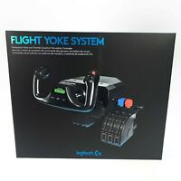 NEW Logitech G Saitek Pro Flight Yoke System - Flight Simulator - IN HAND