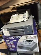 Casio Cash Register TE-M80-M,DEMO,1MonthWARRANTY