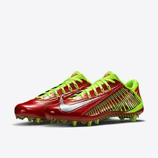 Nike VAPOR CARBON ELT TD Football Cleats RED 631425 607 MEN 11 NIB w POUCH