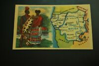 Vintage Cigarettes Card. BELGIAN CONGO. REGIONS OF THE WORLD COLLECTION