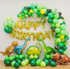 Dinosaur Party Balloon Set, Birthday Party Decorations