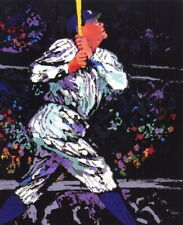 """Babe Ruth"" - Leroy Neiman - 8 x 10 Art Print - Very Nice!"