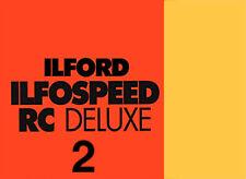 Ilford Ilfospeed RC De Luxe 2 10x15/100f  24M Satinata - Carta Fotografica B/N