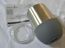 Pampered Chef Double-Walled Insulated Stainless Steel WINE TUMBLERS Set of 2