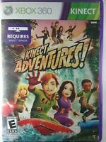 Kinect Adventures (Microsoft Xbox 360, 2010)  Complete & Tested Free Shipping
