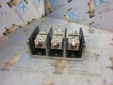 2 AWG Screw 600 V MARATHON SPECIAL PRODUCTS Panel Mount Barrier Terminal Block 1 3 Pole 1343585 420 A