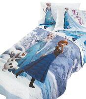 Parure Lenzuola Principesse Frozen Elsa 1 Piazza Stampa Digitale Disney Caleffi