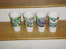 1995 McDonald's Looney Tunes Play Football Cup Lot (4) Marino Emmitt Smith