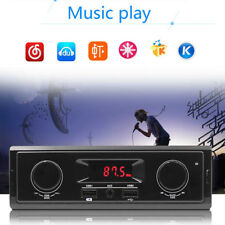 Single 1Din In-Dash Audio Stereo FM Aux In Receiver USB MP3 Radio Player Digital