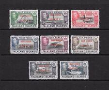 Lightly Hinged Historical Events Pre-Decimal Falkland Island Stamps