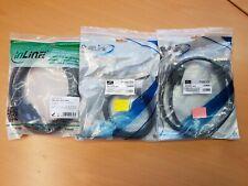 3 x DVI-Kabel PureLink inLine PI4300-010 CD-DD-030-BK 2x1m 1x3m Neu