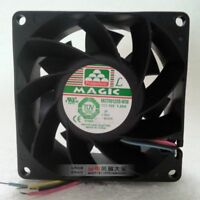 For MAGIC MGT0812XB-W38 8038 DC 12V 1.2A cooling fan 4-Wire