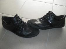 Chaussures CALVIN KLEIN modèle THEO noires pointure 41 cuir et daim