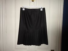 BEBE Black Pleated Skirt in Excellent Condition! Sz 2 USA