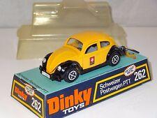 dinky VW BEETLE 1200 SWISS PTT POSTWAGEN  - 262