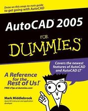 AutoCAD 2005 for Dummies by Mark Middlebrook (2004, Paperback)