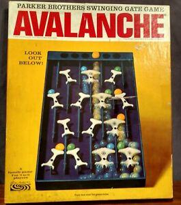 Vintage Parker Brothers 1966 Game Avalanche - Swinging Gate Game