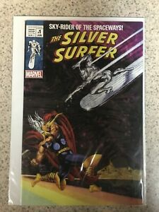 Silver Surfer Black #1 Joe Jusko Exclusive #4 Thor Homage Variant 2019 2000 Copy