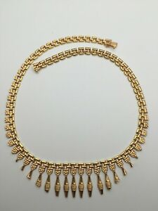 """18KT 750 SOLID YELLOW GOLD 18"""" 23Gr CHAIN NECKLACE Not Scrap"""