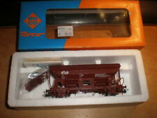 Roco 1/87 HO 46131 NS Udsy zijlosser     side discharge wagon        New in Box