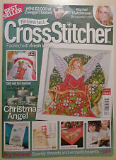 Cross Stitcher Magazine 205 Christmas Angel Somebunny Birth Sampler Mr Men Xmas