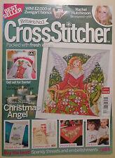 Cross Stitcher Magazine 205 Christmas Angel Somebunny Birth Sampler Mr Men Xmas