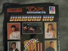 Diamond Rio Magnets - Vintage 1999 Christian Country Music Rock Concert Tour